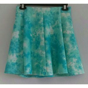 Tie Dye Skater Skirt